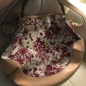Gucci Flora Peggy Bamboo Hobo